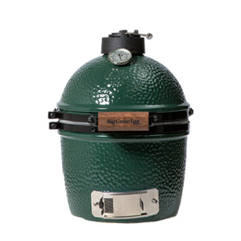 Mini Big Green Egg is the best kamado style charcoal grill and smoker on the market