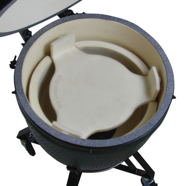The Big Green Egg ConvEGGtor / Plate Setter
