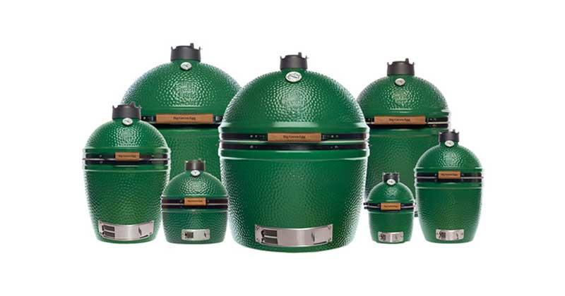 Big Green Egg family of EGGs - Kamado Charcoal Grill and Smoker